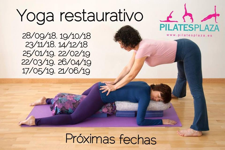 Yoga Restaurativo en Pilatesplaza