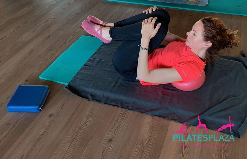 Pelota Mini en Clases de Pilates