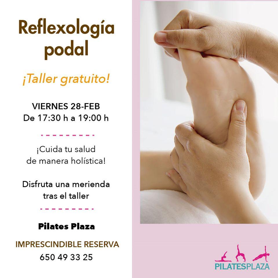 Taller de Reflexología Podal en Pilatesplaza