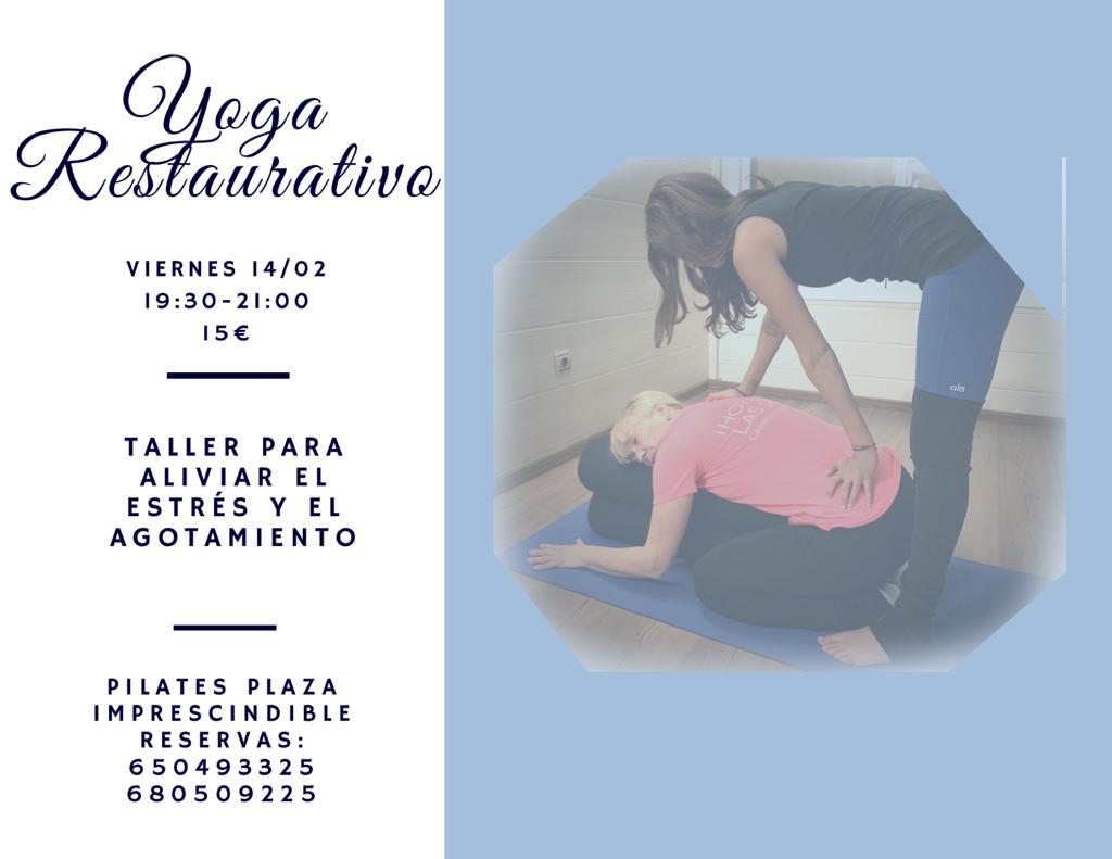 Taller Yoga Restaurativo – Relajación Físico y Mental