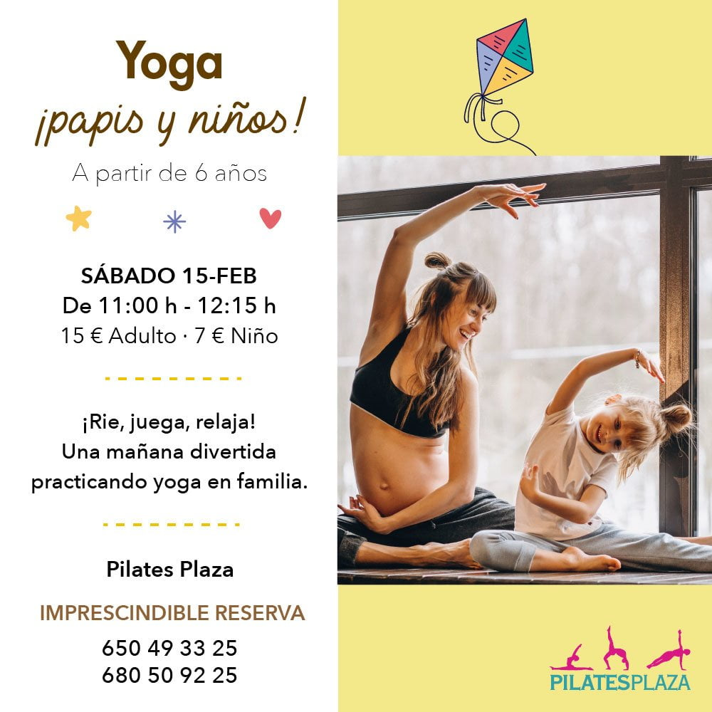 Yoga papis y niños